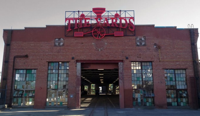 front of the yards